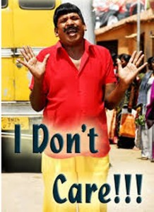 I Dont Care !!! Vadivelu Photo Comment