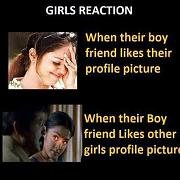 Girls Reaction Funny Picture Comment
