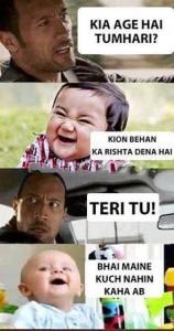 Kia Age Hai Tumhari? Funny Pic