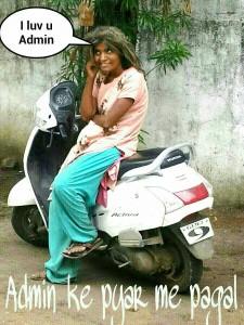 Admin Ke Pyar Me Pagal Funny Comment