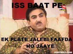 Ek Plate Jalebi Faafda Ho Jaaye