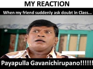Tamil Funny Pictures Reaction In Class