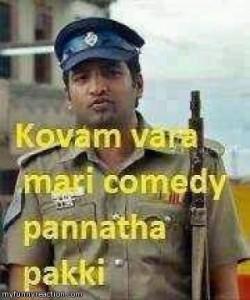Kovam Varamathiri Comedy Pannatha - Santhanam