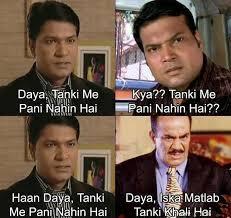 Daya Tanki Me Pani Nahin Hai Funny Photo Pic