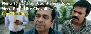 Nenu 123 Ani Count Chese Lopu Meru Page Like Cheyali...