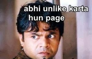 Abhi Unlike Karta Hun Page Funny Comment