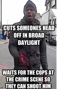 Cuts Someones Head Off In Broad Daylight