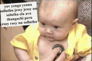 Funny Pictures Of Babies With Comments