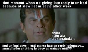 Ohooo Neku Ala Ardhamainda...-Brahmanandam
