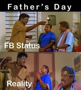 Father's Day Photo Comment For Facebook