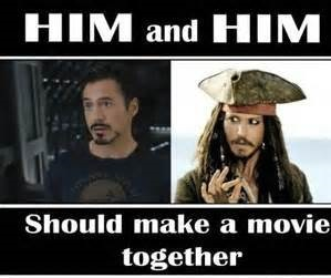 Him And Him Should Make A Movie Together