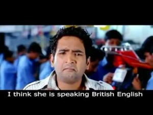 I Think She Is Speaking British English