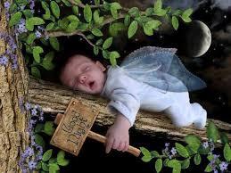 Cute Baby Says Good Night