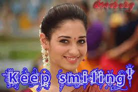 Tamannaah-Keep Smiling