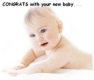 Congrats With Your New Baby