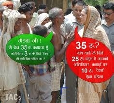 Comment On Congress On Poverty In India Funny
