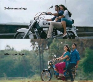 Before Marriage vs After Marriage Funny Pic