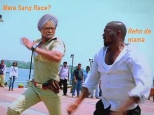 Mere Sang Race? Rehn De Mama Funny Comment