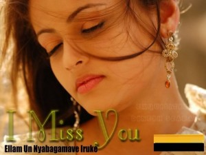 Sneha Ullal- I Miss You Comment Pic