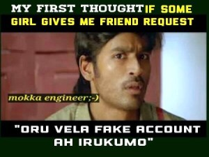 Dhanush My First Thought Tamil Funny