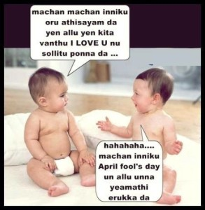 Funny Babies Comment Pic