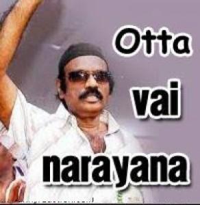 Goundamani - Otta Vai Narayana