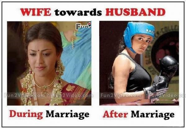 Funny Memes Marriage : Wife before after marriage funny comment pictures download