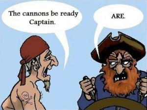 The Cannons Be Ready Captain Funny Pic