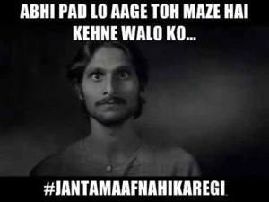 Abhi Pad Lo Aage Toh Maze Hai Kehne Walo Ko...