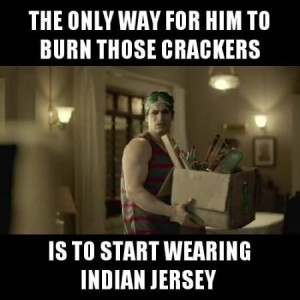 The Only Way For Him To Burn Those Crackers Funny Comment
