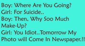 Boy Girl Funny Joke Image For Facebook