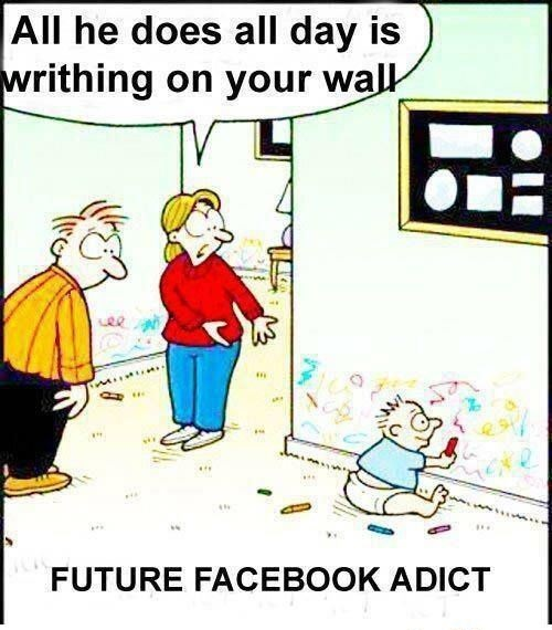 Addict Of Fb Facebook Funny Jokes