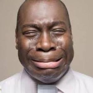 Man Crying Face Reaction