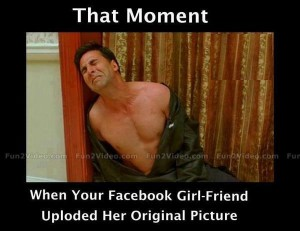 Funny Facebook Girl Friend Picture