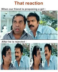 When Our Friend Is Proposing A Girl Funny Comment