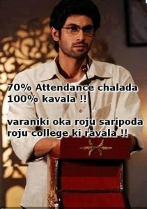 Attendance Funny Comments For Facebook