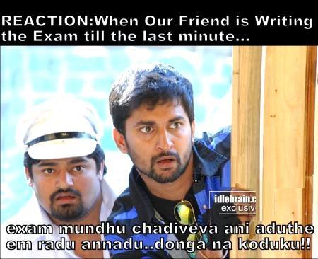 Exam Time In Last Minute Telugu Funny