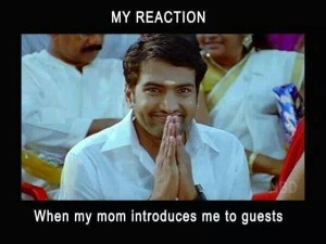 When My Mom Introduces Me To Guests - Santhanam