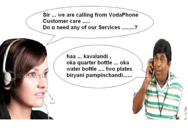 Brahmanandam Comedy Joke Image In Telugu