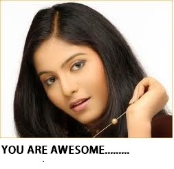 Anjali Says You Are Awesome....