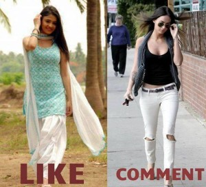 Which Is Best Women Photo Comment