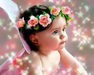 Cute Baby Angel Wallpaper