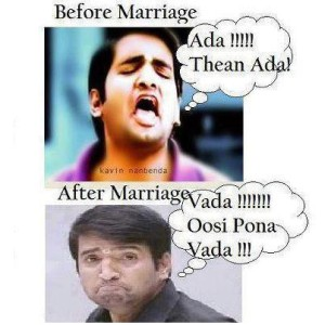 Before Marriage vs After Marriage Santhanam Funny