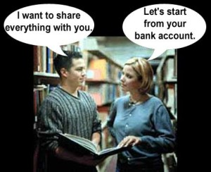 I Want To Share Everything With You English Joke Picture