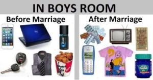 In Boys Room Before Marriage vs After Marriage
