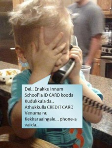 Funny Baby About Creditcard