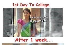 1st Day To College Actress Photo Pic