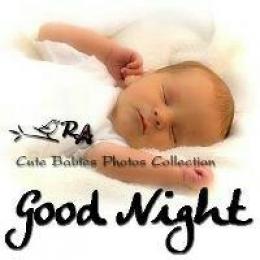 Good Night - Sleeping Baby