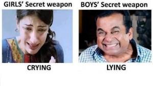 Girls Secret Weapon vs Boys Secret Weapon