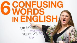 6 Confusing Words In English